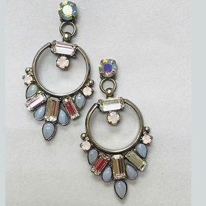 Sorrelli Iridescent Pastel Hoop Earring, NWT